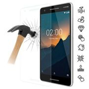 Nokia 2.1 Tempered Glass Screen Protector - 9H, 0.3mm - Clear