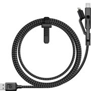 Nomad ULTRA RUGGED Universal Cable USB C ,Lightning and MicroUSB 1.5m LINE