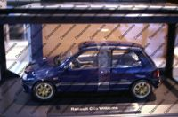 Norev Renault Clio Williams Phase1 Blue 1:18 scale 185230