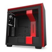 NZXT Black/Red H710 Mid Tower Windowed PC Gaming Case