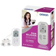 Omron E3 HV-F021-ESL TENS Intense Electronic Pain Reliever - Silver
