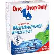 ONE DROP Only natrl.Mundwasser Konzentrat 50 ml