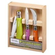 OPINEL 3 piece Garden knife and pruning set - pastel colours