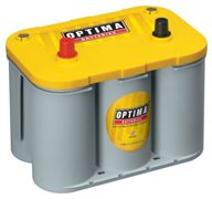 Optima Yellow Top YT S - 4.2, 12V 55Ah, AGM battery SpiralCell Technologie