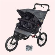 Out 'n' About Nipper Double Sport V4 - Steel Grey Grey