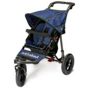 Out N About Nipper Single Buggy V4 with FREE Mini Tyre Pump - Royal Navy, Blue