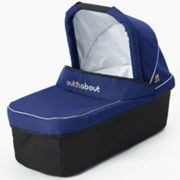 Out N About Nipper Single V3/V4 Carrycot - Royal Navy, Blue