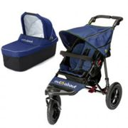 Out N About Nipper Single V4 Buggy and Carrycot, Blue