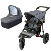 Out N About Nipper Single V4 Buggy and Carrycot, Grey