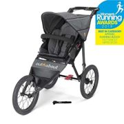 Out N About Nipper Sport V4 Jogging Buggy - Steel Grey, Grey