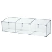 "Outsunny 71"" Aluminum Greenhouse Plants Raised Bed Vented Cold Frame Protector Transparent"