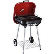 Outsunny Trolley BBQ | Portable Barbecue Grill