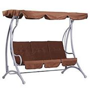 Outsunny Swing Chair 01-0890 Coffee