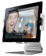 Ozaki Excavator Multi-Angle View Metallic Holder Mount for Apple iPad 1-4,Air,Air 2,Pro - BLACK - IH931SL
