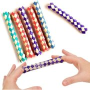 Pack of 6 - Finger Traps - Party Bag Fillers Favours Piñata Prize Toy