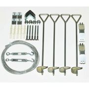 Palram Greenhouse Anchoring Kit