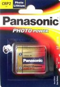 Panasonic CR-P2 6V Photo Power Primary Lithium Battery CR-P2 (pack of 1)
