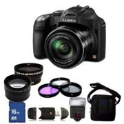 Panasonic Lumix DMC FZ70/FZ72 Digital Camera + Accessory Bundle
