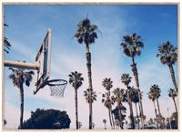 Paper Collective Cities of Basketball (LA) Print