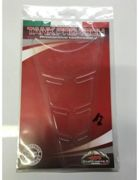Para reservoir resin with transparent relief
