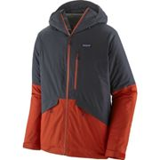 PATAGONIA M's Insulated Snowshot Jkt Smolder Blue - Ski jacket - Blue/Red - taille M