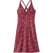 Patagonia W Amber Dawn Dress Quito Multi - Star Pink, Size L - Womens Dresses, Color Pink
