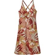 PATAGONIA W's Amber Dawn Dress The Cotton Wild Big Spanish Red - Dress - jumpsuit - Red/Pink/Green - taille XS
