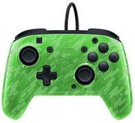 PDP Face-off Deluxe Switch Controller + Audio Camo Green