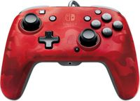 PDP Nintendo Switch Faceoff Deluxe + Audio Wired Controller - Red Camo (Nintendo Switch)