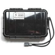 Peli 1040 Microcase Clear with Black Liner