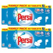 Persil Non-Bio Washing Detergent 40 Tablets, 6 Packs of 20 Washes