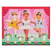 Petitcollage Double Sided puzzle 2in1 ballerinas