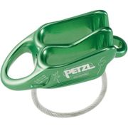 Petzl Reverso Green, Size One Size - Unisex Belay Device, Color Green