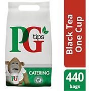 PG tips Tea Bags One Cup Pack of 440