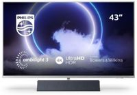 Philips 43 4K UHD Ambilight Android TV - Bowers and Wilkins Sound