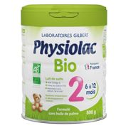 Physiolac Bio 2nd Age Milk 800g
