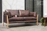 PIB Vintage Leather Sofa Ariston