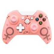 (Pink) N1 Wireless 2.4G Controller for Xbox One, PS3, PC