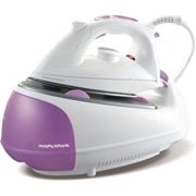 Pink White Morphy Richards Jet Steam Generator Iron 333020 [Energy Class A]