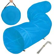 Play tunnel with transport bag - blue