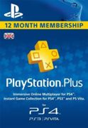 PlayStation Plus - 12 Month Subscription (UK) - Instant Download