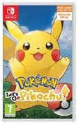 Pokemon: Let's Go Pikachu! Nintendo Switch Game