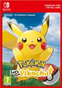 Pokemon Let's Go! Pikachu Switch - Instant Download