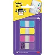 Post-it Index Strong Flags 15.8 x 38.1 mm Assorted Purple 10 x 4 Pack
