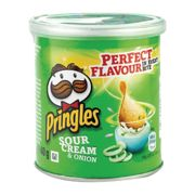 Pringles Crisps Sour Cream and Onion 40g Pack of 12