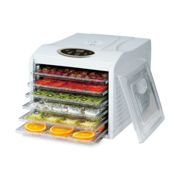 Pro Food Dehydrator 48hr Digital Timer & Temp - 6 Tray Fruit Veg Meat