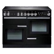 Rangemaster Professional Plus PROP110EIGB/C 110cm Electric Range Cooker with Induction Hob - Black - A/A Rated