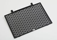 PROTECH radiator cover powder-coated stainless steel black, black