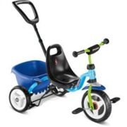 Puky Ceety Kids Tricycle - 2021, Blue/green