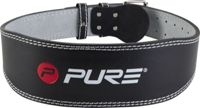 Pure2Improve Pure2Improve - Deluxe Padded Leather And Suede Weight Lifting Belt - Medium One Colour